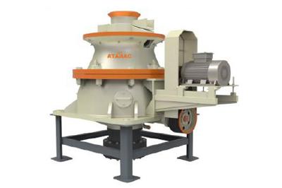 Broyeur à cône hydraulique de laitier en acier série GPY