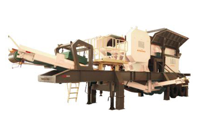 YD series mobile crushing station